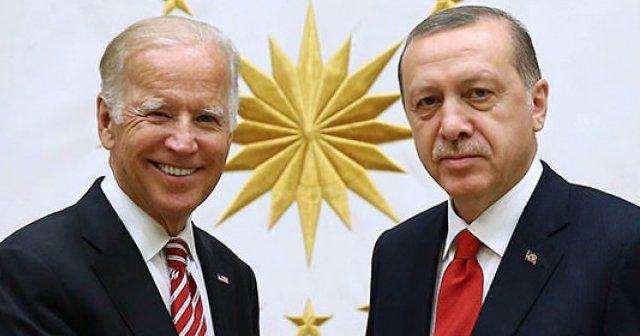Erdoğan, ABD Başkan Yardımcısı Biden'ı kabul etti