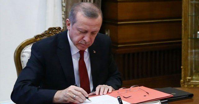 Erdoğan'dan o kanuna onay geldi