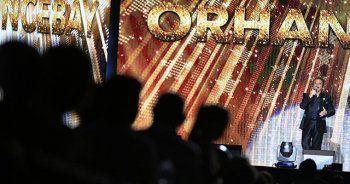 'Orhan Gencebay Gecesi'nde ünlü sanatçılar sahne aldı