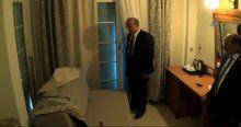 Akdoğan'dan Cumhurbaşkanına saldırı girişimin yaşandığı otele ziyaret