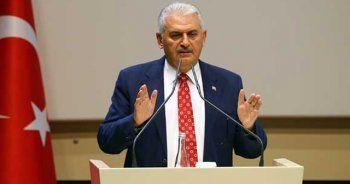 Başbakan Yıldırım'dan çok kritik Suriye açıklaması