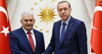 Beştepe'de Erdoğan ve Yıldırım arasında sürpriz görüşme