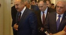 Çavuşoğlu'ndan MHP'ye ziyaret