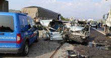 Feci kaza, 3 ölü 5 yaralı