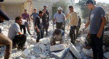 İdlib'te vakum bombalı saldırı