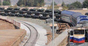İstanbul'dan gönderilen tanklar sınıra ulaştı