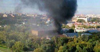 Moskova'da yangın, 16 ölü
