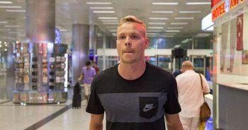 Sigthorsson Galatasaray için İstanbul'a geldi