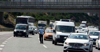 TEM'de yeni dönem, polisler hepsini durdurdu