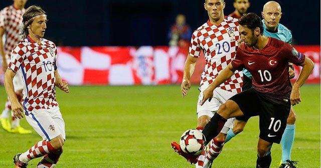 Hırvatistan-Türkiye maçı Hırvat basınında