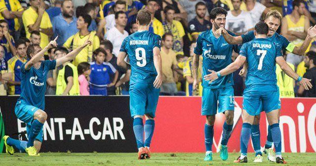 Lucescu'lu Zenit 3-0'dan dönüp 4-3 kazandı