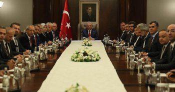 Başbakan Yıldırım, Yılmaz ve Akgün'ü kabul etti