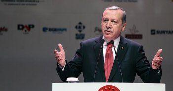Erdoğan, 'Sizin biriniz onlara bin görünür'
