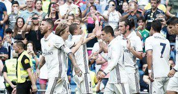 İspanya'da Real Madrid farklı kazandı