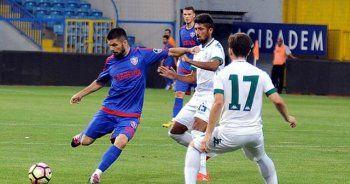 Kardemir Karabükspor Giresunspor maçında gol sesi çıkmadı