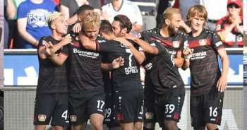 Leverkusen Hamburg'u genç golcüsüyle yıktı