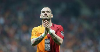 Sneijder'in 'dalya' heyecanı