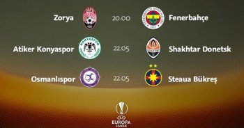 UEFA Avrupa Ligi'nde heyecan başlıyor