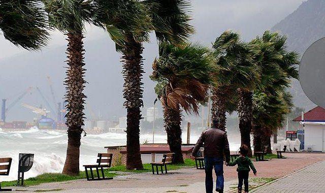 4 il için fırtına ve sağanak uyarısı