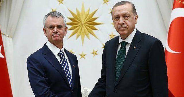 Erdoğan büyükelçi Cooter'ı kabul etti
