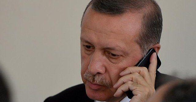 Erdoğan'dan CHP'li Tezcan'a 'geçmiş olsun' telefonu