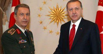 Erdoğan, Hulusi Akar ile görüştü