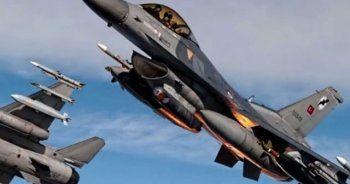 İHA'lar tespit etti, F-16'lar vurdu, 6 terörist öldü