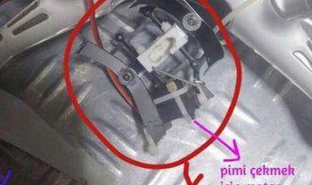 Teröristlerin kullandığı drone düşürüldü