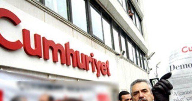 Cumhuriyet Gazetesi'nde 8 kişiye tutuklama talebi
