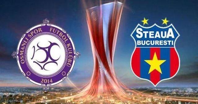 Osmanlıspor Avrupa Ligi'nde Romanya'da tur arayacak