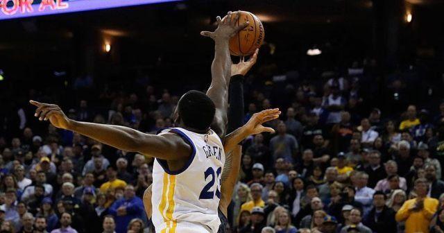Warriors'ın serisi 12 maça çıktı