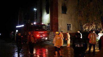 Adana'daki yangına ilişkin yayın yasağı