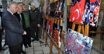 Afyonkarahisar'da '15 Temmuz Milli Direniş Sergisi' açıldı