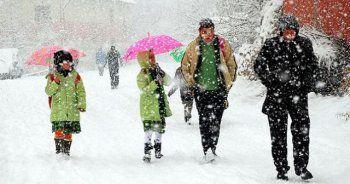Ağrı'nın Diyadin ilçesinde eğitime kar engeli