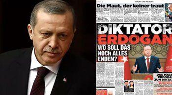 Alman gazeteden küstah Erdoğan manşeti
