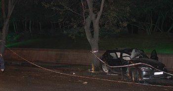 Başkent Ankara'da feci kaza, 4 yaralı
