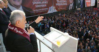 Binali Yıldırım: Yeni Anayasa'yı MHP ile yapacağız