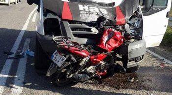 Giresun'da trafik kazasında 1 kişi öldü, 1 kişi ağır yaralı