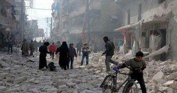 Halep yoğun bombardıman altında: Ölü sayısı yükseliyor