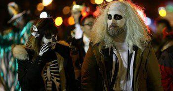 New York'ta 60 bin kişilik Cadılar Bayramı yürüyüşü