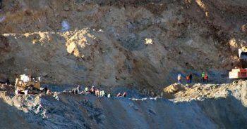 Siirt'te meydana gelen göçükte 2 işçinin cesedine ulaşıldı