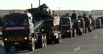 Sınıra giden tanklar Şanlıurfa'dan geçti