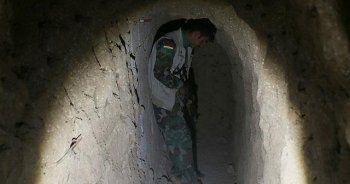 Terör örgütünün tünelleri ortaya çıktı