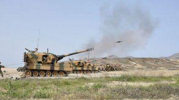 TSK DAEŞ hedeflerini vurdu: Teröristlerin 12 hedefi vuruldu