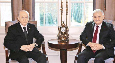 Başbakan Yıldırım'dan Bahçeli'ye 3 teklif