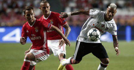 Beşiktaş'ın konuğu Benfica