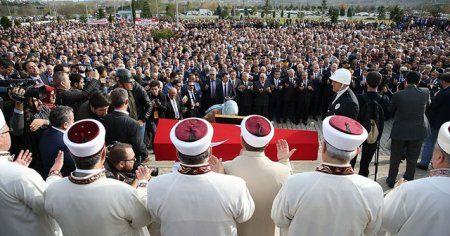 Şehit Kaymakam Fatih Safitürk'ün son yolculuğuna uğurlandı