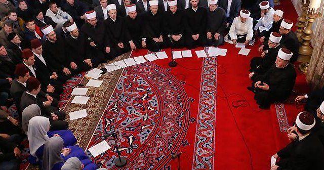 Saraybosna'da şehitler için gıyabi cenaze namazı kılındı