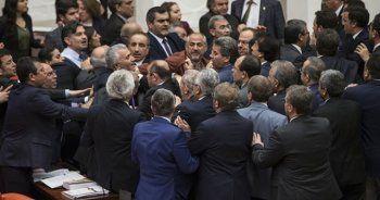 Meclis'te kavga, HDP'li vekiller saldırdı