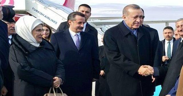 Cumhurbaşkanı Erdoğan'ı Şanlıurfa'da böyle beklediler